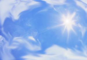 太陽 日差し イメージ